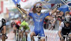 Osmou etapu Vuelty vyhrál Bouhanni, v čele zůstává Valverde