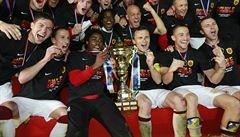 Sparta slaví double! Ve finále poháru zvládla penaltový rozstřel proti Pzni