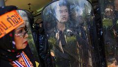 Ozbrojenci napadli tábor demonstrantů v Bangkoku: tři mrtví