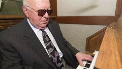 Cenu Olgy Havlové získal nevidomý varhaník, který pomáhá seniorům