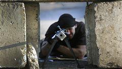 Silné výbuchy ve Slavjansku. Ukrajinská národní garda bojuje se separatisty