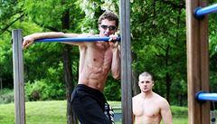 Cvičení venku. Když městské parky plní funkci tělocvičny