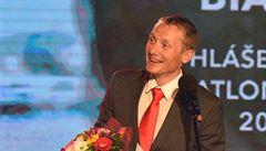 Cenu za nejlepšího biatlonistu sezony převzal Ondřej Moravec