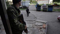V Doněcku se opět střílí, bojuje se o sídlo tajné služby, píší v Rusku