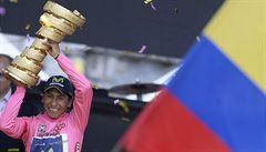 Poslední etapu na Giru vyhrál Mezgec, ale celkový triumf patří Quintanovi