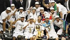 Basketbalisté San Antonia jsou popáté v historii šampiony NBA