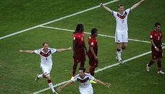 Němci roztrhali neškodné Portugalsko, Müller nasázel hattrick