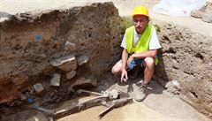 Archeologové našli v Brně dětskou kostru z doby bronzové