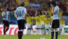 Trenér Uruguaye: Kauza Suárez nás nepoškodila, porážku musíme přijmout