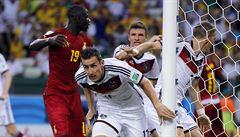 Německo zachraňovalo bod s Ghanou, rekordním gólem ho zařídil Klose