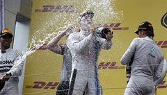 Velkou cenu Rakouska ovládl Mercedes, triumf získal lídr Rosberg