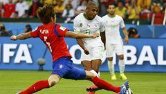 Alžírsko po divokém zápase porazilo Koreu 4:2, vyhlíží zápas o všechno