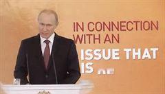 Putinův projev jako reklama. YouTube přehrává obhajobu anexe Krymu
