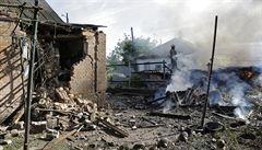 Ukrajinská armáda použila chemické zbraně, tvrdí povstalci