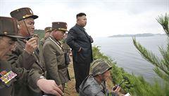 Budete litovat, hrozil nepřátelům při cvičení armády Kim Čong-un