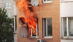 Vařili pervitin, byt začal hořet a vybuchl. Kvůli požáru v Ostravě obvinila policie dalšího muže