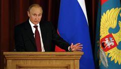 Kritika Putina. V projevu pro diplomaty si protiřečil, píše ruský server