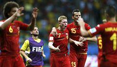 Belgie zvládla prodloužení proti USA a postupuje do čtvrtfinále