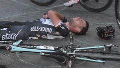 Cavendish na Tour kvůli zranění končí. Za pád můžu já, litoval