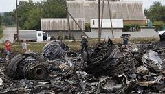 Trosky letadla a spálená země. Podívejte se na záběry z místa neštěstí