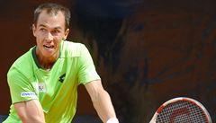 Rosol prohrál finále ve Stuttgartu, sestry Plíškovy mají titul ze čtyřhry