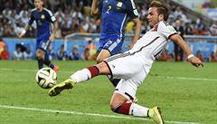 Ukaž, že jsi lepší než Messi, řekl Löw. A Götze mu vystřelil zlato