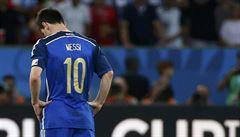 Ta porážka bolí, přesto můžeme být na sebe pyšní, řekl Messi