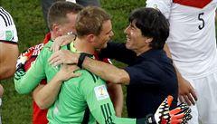 Německý brankář Neuer: Všechno klapalo, teď už se budeme pořád smát