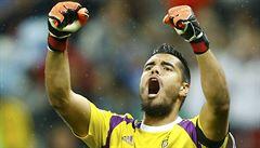 Rok nehrál, teď vychytal finále. Argentina děkuje brankáři Romerovi