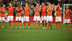 Nizozemci v krizi. Robben: Jsem naštvaný, tohle se nám nesmí stávat