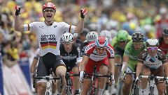 Němci slaví čtvrtý triumf na Tour. Kittela vystřídal na pódiu Greipel