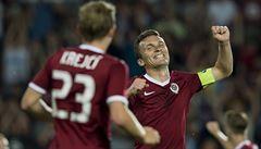 Sparta zahájila boj o Ligu mistrů výhrou 7:0, pět gólů dal Lafata