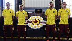 Červená a žlutá. Sparta představila dres v barvách hlavního města