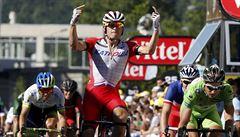 Sagan počtvrté druhý, poslední vítězství před Alpami urval Kristoff