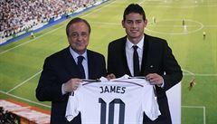 James Rodríguez už je hráčem Realu Madrid, stál přes dvě miliardy korun