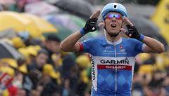 Navardauskas vyhrál etapu Tour, König na mokrém asfaltu upadl