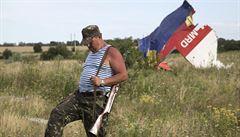 Letadlo sestřelili povstalci. Americká rozvědka: Zapojení Ruska nedokážeme