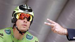 Slovenský spurtér Sagan se na tři roky upsal týmu Tinkoff-Saxo