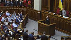 Rusové na černé listině Kyjeva: ukrajinský parlament schválil sankce
