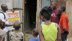 Libérie kvůli ebole podnikne mimořádná opatření. V zemi platí stav nouze