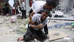 Přežili holokaust. Nyní obvinili Izrael z genocidy Palestinců