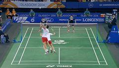 VIDEO: Glasgow se bavil badmintonem. Podívejte se na parádní výměnu