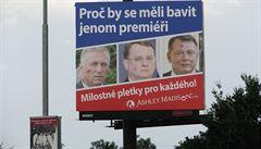 Seznamka využívá v reklamě tvář Topolánka, Nečase i Paroubka