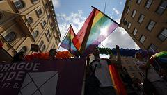 Účastníci Prague Pride pochodovali Prahou. Sešlo se na 17 tisíc lidí