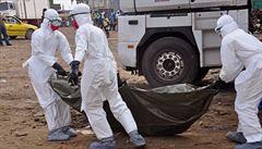 Rekordní šíření eboly: za pouhý týden přibylo 500 pacientů