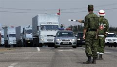 Kyjev: ruský konvoj smí projet. První vozy jsou již na hranicích