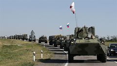 Moskva a Kyjev se dohodly na podmínkách pro konvoje