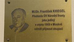 Zastupitelé Prahy 2 odmítli udělit Krieglovi čestné občanství