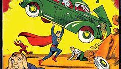 První komiks se Supermanem se vydražil za miliony