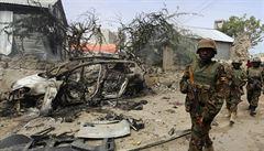 Útok teroristické skupiny v Somálsku si vyžádal životy 17 vojáků